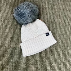 NEW North Face Youth Pom Pom Toque